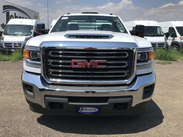 2018 Sierra 3500 Regular Cab DRW 4x4,  Platform Body #G864307 - photo 3