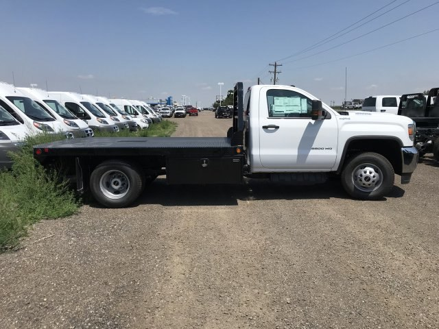 2018 Sierra 3500 Regular Cab DRW 4x4,  Platform Body #G864307 - photo 5