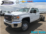 2018 Sierra 3500 Crew Cab DRW 4x4,  Cab Chassis #G867993 - photo 1
