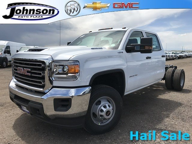 2018 Sierra 3500 Crew Cab DRW 4x4,  Cab Chassis #G868081 - photo 1