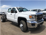 2018 Sierra 3500 Crew Cab DRW 4x4,  Cab Chassis #G868081 - photo 3