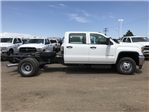 2018 Sierra 3500 Crew Cab DRW 4x4,  Cab Chassis #G868081 - photo 6