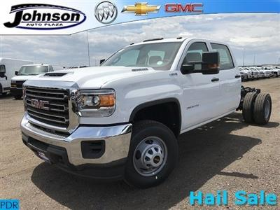 2018 Sierra 3500 Crew Cab DRW 4x4,  Cab Chassis #G869873 - photo 1