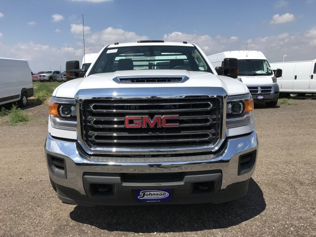 2018 Sierra 3500 Regular Cab DRW 4x4,  Freedom Platform Body #G872713 - photo 3