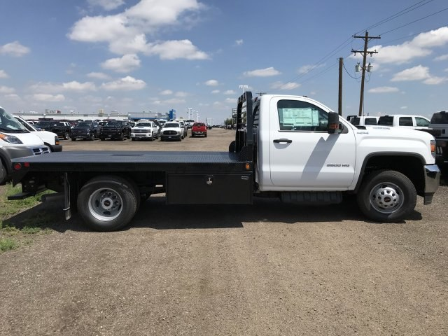 2018 Sierra 3500 Regular Cab DRW 4x4,  Freedom Platform Body #G872713 - photo 5