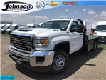 2018 Sierra 3500 Regular Cab DRW 4x4,  Freedom Platform Body #G872713 - photo 1