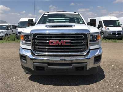 2018 Sierra 3500 Regular Cab DRW 4x4,  Freedom Rodeo Platform Body #G873333 - photo 3