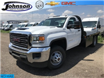 2018 Sierra 3500 Regular Cab DRW 4x4,  Freedom Rodeo Platform Body #G873333 - photo 1