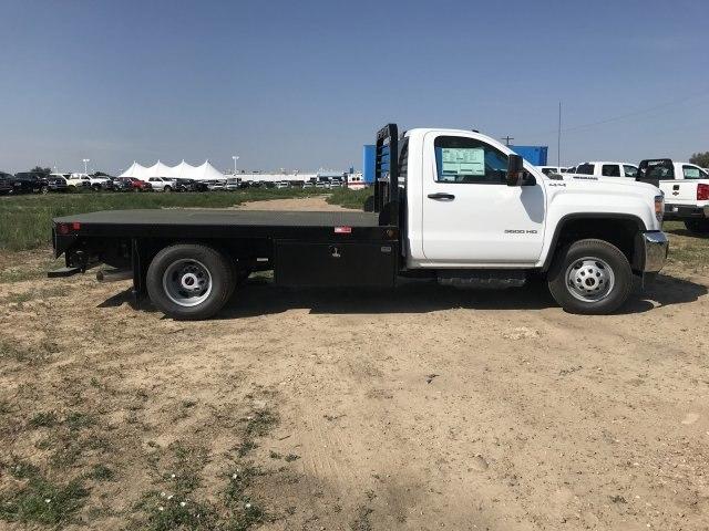 2018 Sierra 3500 Regular Cab DRW 4x4,  Platform Body #G874103 - photo 5
