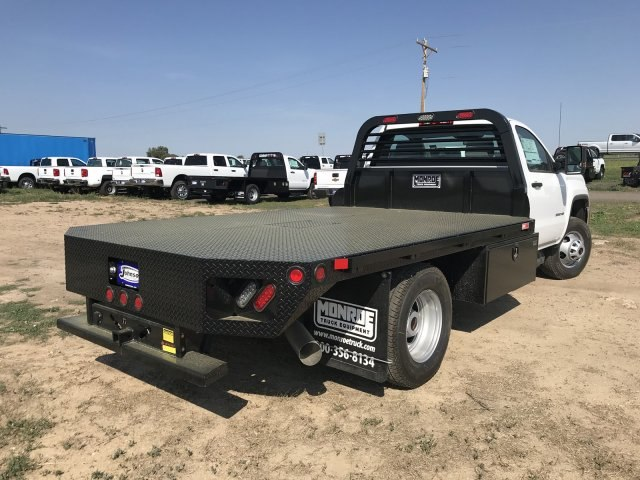 2018 Sierra 3500 Regular Cab DRW 4x4,  Platform Body #G874103 - photo 6