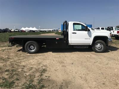 2018 Sierra 3500 Regular Cab DRW 4x4,  Freedom Rodeo Platform Body #G874103 - photo 5