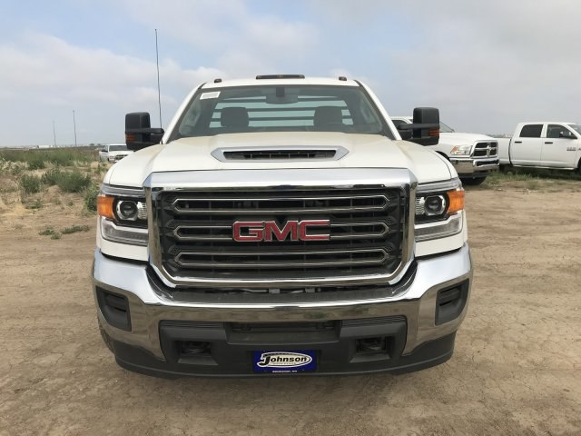 2018 Sierra 3500 Regular Cab DRW 4x4,  Platform Body #G874601 - photo 3
