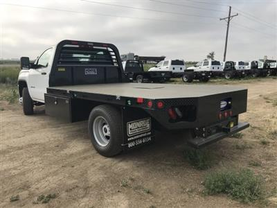2018 Sierra 3500 Regular Cab DRW 4x4,  Platform Body #G874601 - photo 2