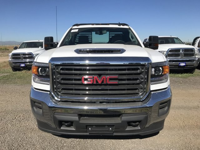 2018 Sierra 3500 Regular Cab DRW 4x4,  Bedrock Diamond Series Platform Body #G886611 - photo 3