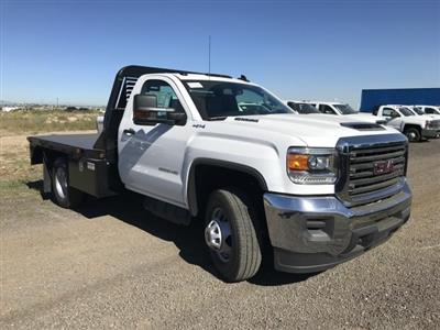 2018 Sierra 3500 Regular Cab DRW 4x4,  Bedrock Diamond Series Platform Body #G886611 - photo 4