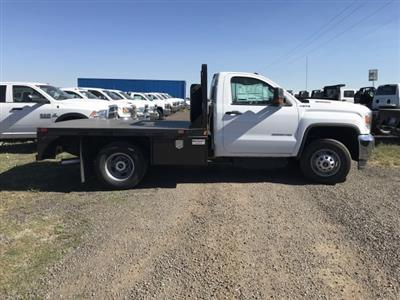 2018 Sierra 3500 Regular Cab DRW 4x4,  Bedrock Diamond Series Platform Body #G886611 - photo 5