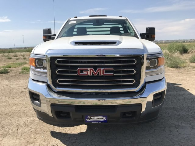 2018 Sierra 3500 Regular Cab DRW 4x4,  Hillsboro GI Steel Platform Body #G888988 - photo 3