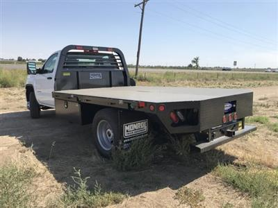 2018 Sierra 3500 Regular Cab DRW 4x4,  Hillsboro GI Steel Platform Body #G888988 - photo 2