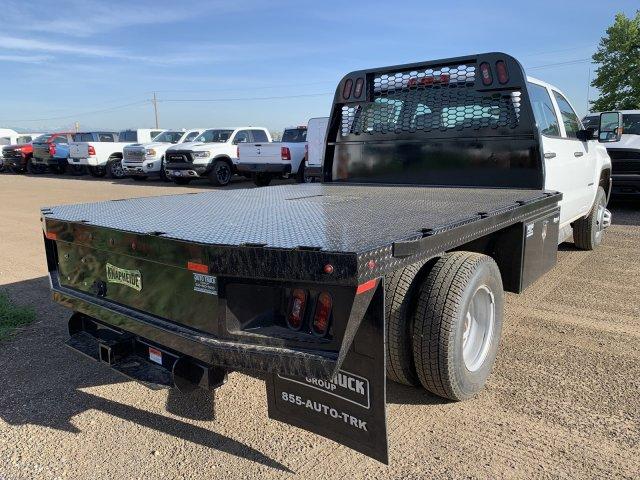 2019 Sierra 3500 Crew Cab DRW 4x4,  Platform Body #G955629 - photo 6