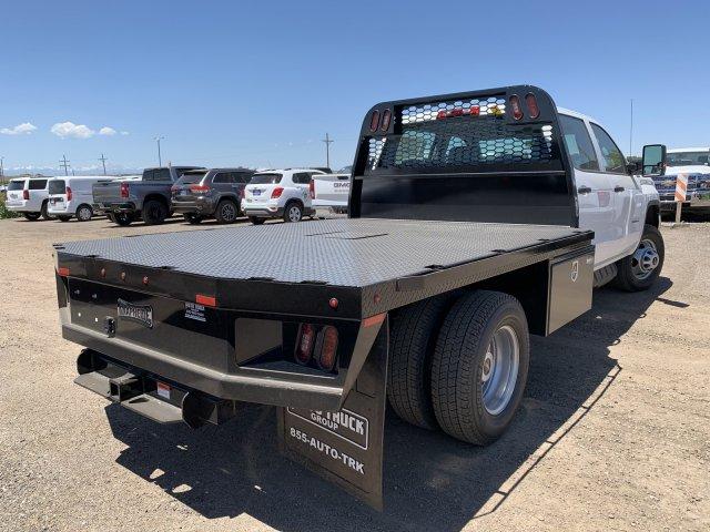 2019 Sierra 3500 Crew Cab DRW 4x4,  Knapheide PGNB Gooseneck Platform Body #G956569 - photo 5