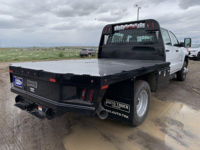 2019 Sierra 3500 Crew Cab DRW 4x4,  Knapheide PGNB Gooseneck Platform Body #G958415 - photo 2