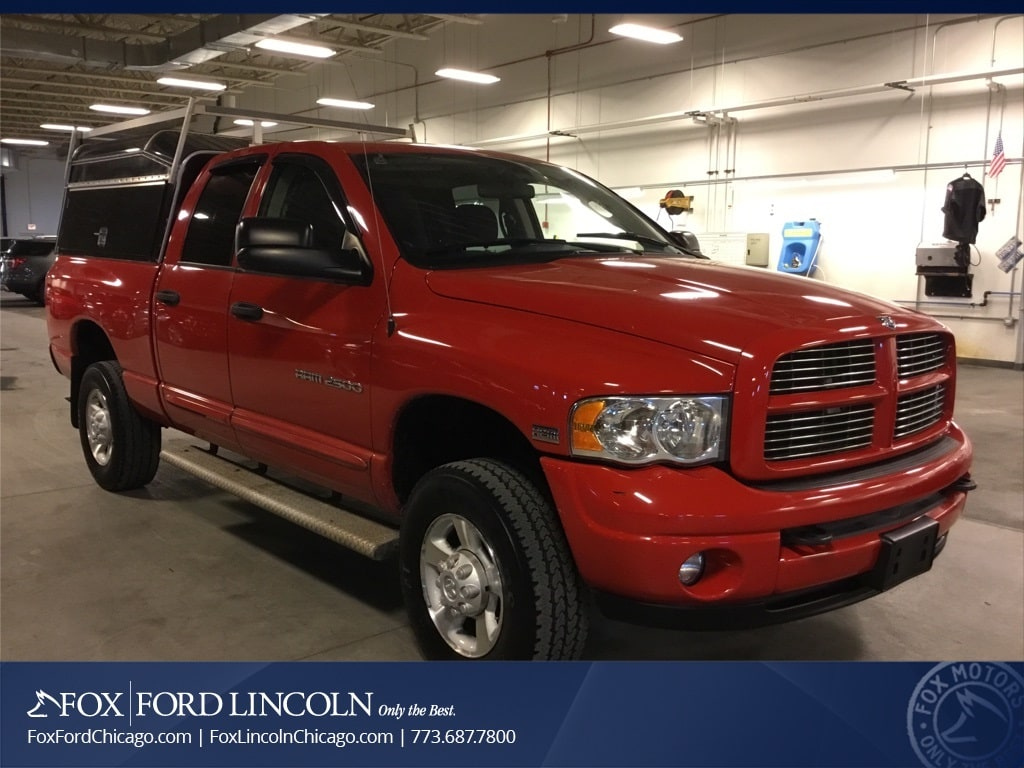 2004 Ram 2500 Quad Cab 4x4, Pickup #17T1296B - photo 3