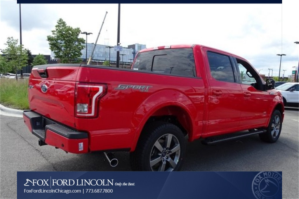 2017 F-150 Crew Cab 4x4 Pickup #17T1660 - photo 12
