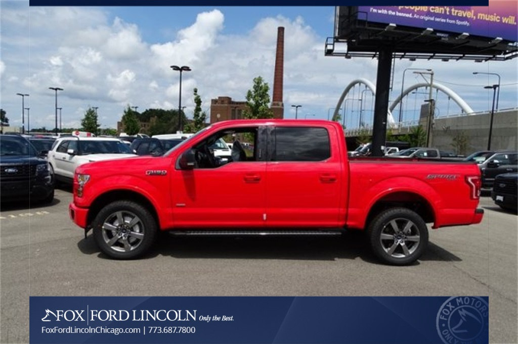 2017 F-150 Crew Cab 4x4 Pickup #17T1660 - photo 5