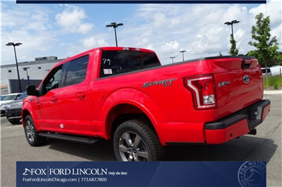 2017 F-150 Crew Cab 4x4 Pickup #17T1660 - photo 2