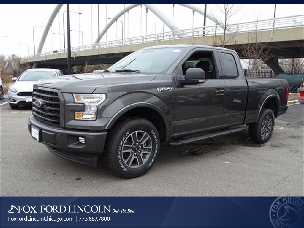 2017 F-150 Super Cab 4x4 Pickup #17T915 - photo 1