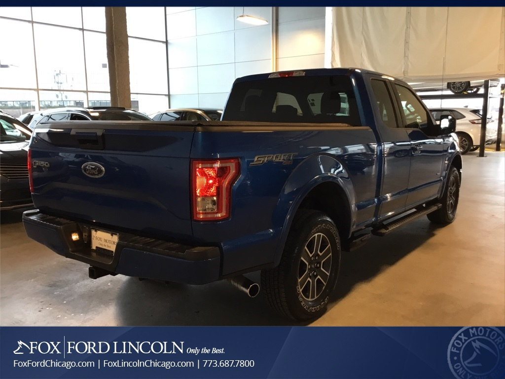 2015 F-150 Super Cab 4x4, Pickup #18T076A - photo 4