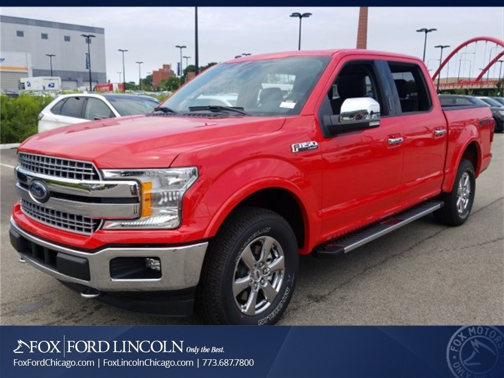 2018 F-150 SuperCrew Cab 4x4,  Pickup #18T921 - photo 1