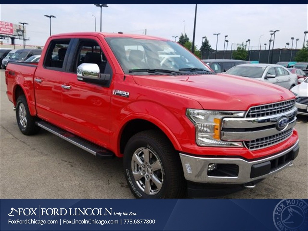 2018 F-150 SuperCrew Cab 4x4,  Pickup #18T921 - photo 4