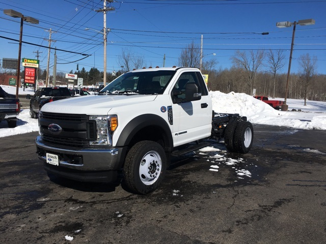 2017 F-550 Regular Cab DRW 4x4,  Cab Chassis #JF17470 - photo 1