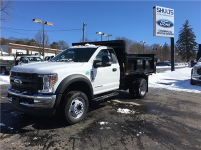 2018 F-550 Regular Cab DRW 4x4, Air-Flo Pro-Class Dump Body #JF18125 - photo 1