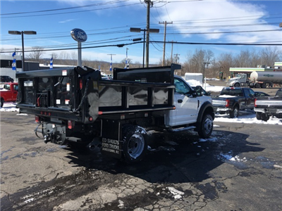 2018 F-550 Regular Cab DRW 4x4, Air-Flo Pro-Class Dump Body #JF18125 - photo 2