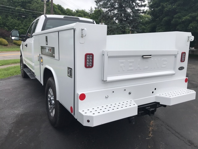 2018 F-350 Super Cab 4x4,  Reading Classic II Steel Service Body #JF18358 - photo 2