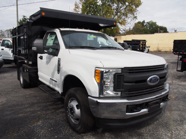 2017 F-350 Regular Cab DRW 4x4, Landscape Dump #257818 - photo 3