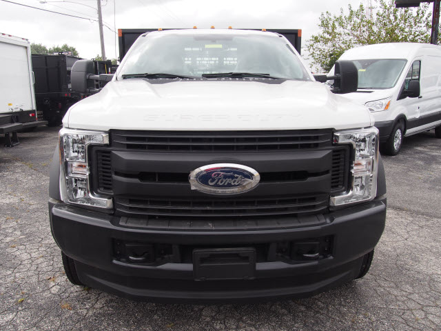 2017 F-450 Regular Cab DRW 4x4, Swampy Hollow Truck Bodies Stake Bed #257841 - photo 4