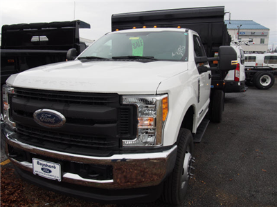 2017 F-350 Regular Cab DRW 4x4, Rugby Versa Rack Landscaper Landscape Dump #257973 - photo 1