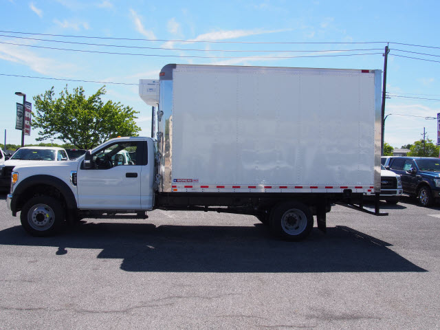 2017 F-450 Regular Cab DRW, Morgan Refrigerated Body #258056 - photo 7