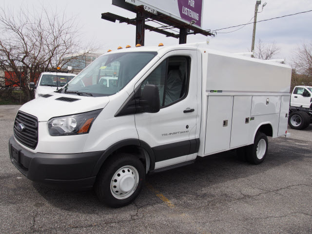 2017 Transit 350 HD DRW, Reading Aluminum CSV Service Utility Van #262267 - photo 1