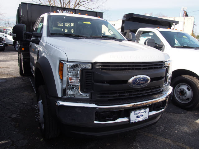 2017 F-450 Regular Cab DRW 4x4, Reading Stake Bed #262936 - photo 3