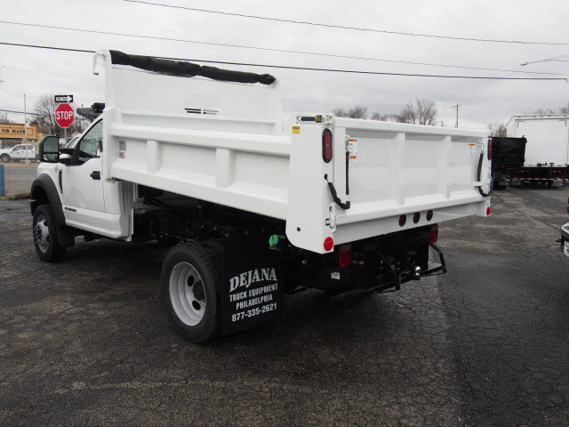 2017 F-550 Regular Cab DRW 4x4, Rugby Dump Body #263664 - photo 2