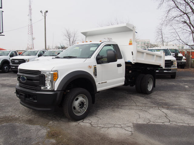 2017 F-550 Regular Cab DRW 4x4, Rugby Eliminator LP Steel Dump Body #263745 - photo 1