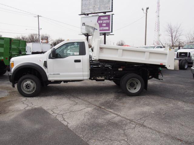 2017 F-550 Regular Cab DRW 4x4, Rugby Eliminator LP Steel Dump Body #263745 - photo 5