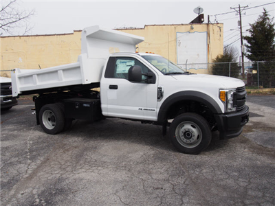 2017 F-550 Regular Cab DRW 4x4, Rugby Eliminator LP Steel Dump Body #263745 - photo 3