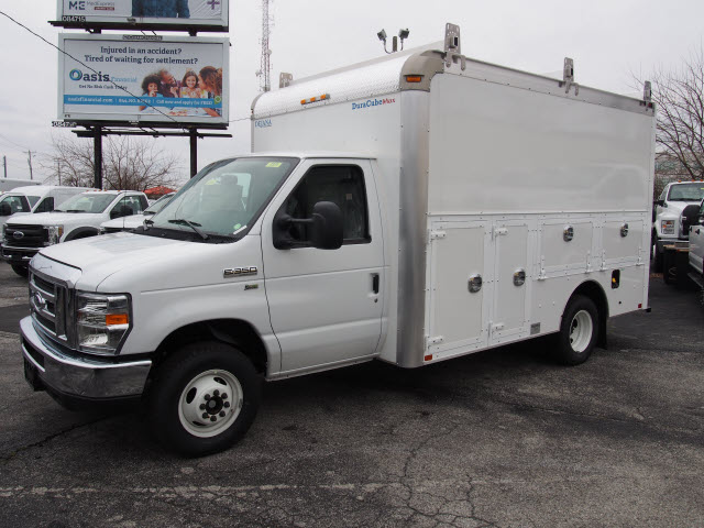 2017 E-350 4x2,  Dejana Truck & Utility Equipment DuraCube Max Service Utility Van #264970 - photo 1