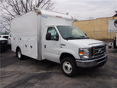 2017 E-350 4x2,  Dejana Truck & Utility Equipment DuraCube Max Service Utility Van #264970 - photo 3