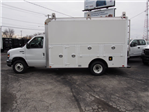 2017 E-350 4x2,  Dejana Truck & Utility Equipment DuraCube Max Service Utility Van #264970 - photo 5